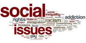 social issues model questions and answers