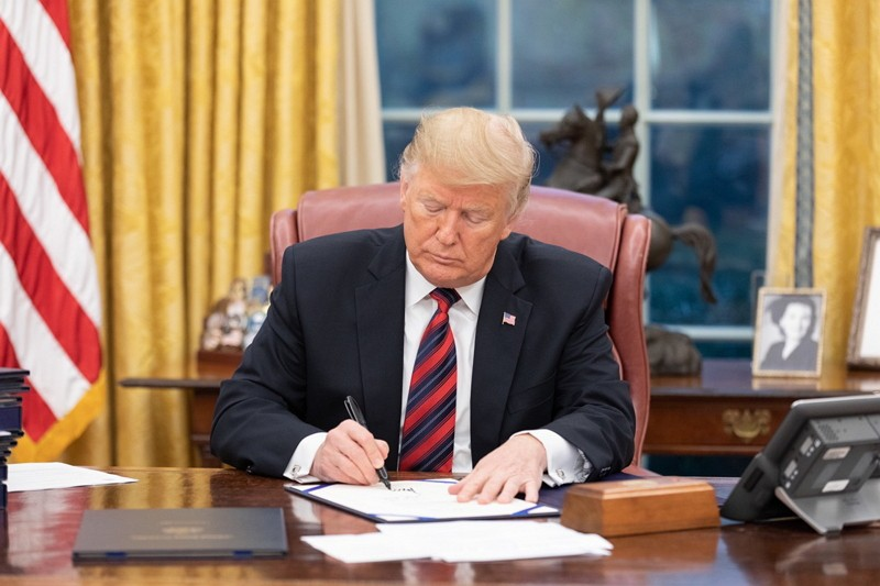 Trump Signs Asia Reassurance Initiative Act (ARIA) Into Law